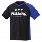 [닛타쿠] EV 티셔츠(블루만)- 탁구티셔츠 / 기능성 티셔츠