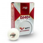 DHS DJ40+ WTT 공인구 6개입 (월드투어 버전) - 탁구 시합공